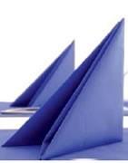 Serviettes airlaid couleur