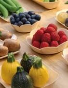 Emballages alimentaires en bois, biodégradable, recyclable,  couverts